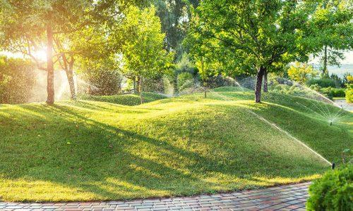 Lawn Sprinkler and Irrigation Designs
